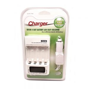 Universal Charger 110-240v (Batteries Sold Separately)